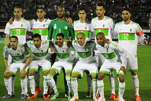 L'équipe d'Algérie