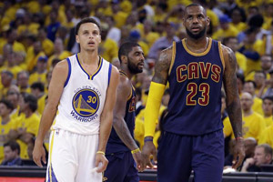Lebron James et Curry